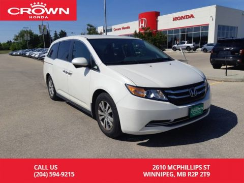 Pre-Owned 2015 Honda Odyssey EX/ ONE OWNER/REAR ENTERTAINMENT SYSTEM/LOW KMS/ PUSH START/ BACK UP CAM