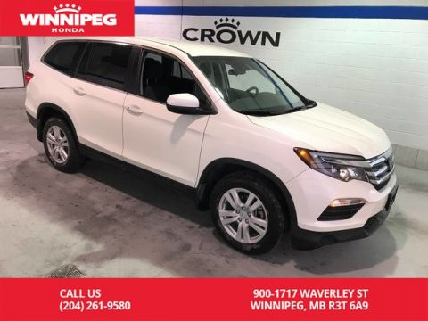 Pre-Owned 2017 Honda Pilot 4WD/ LX/Heated seats/Bluetooth/8 passenger seating