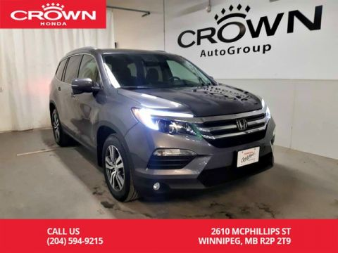 Certified Pre-Owned 2017 Honda Pilot EX/one owner lease return/ low kms/ push start/ econ mode/ sunro