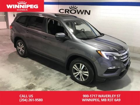 Certified Pre-Owned 2017 Honda Pilot Certified/Sunroof/Heated seats/Rear view camera/8 passenger