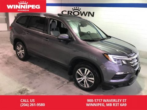 Pre-Owned 2017 Honda Pilot Certified/EX-L w/Navi/Leather/Bluetooth/Heated seats