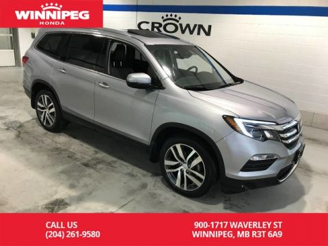 Pre-Owned 2018 Honda Pilot Certified/Touring/AWD/Bluetooth/Apple carplay/Heated and Cooled seats