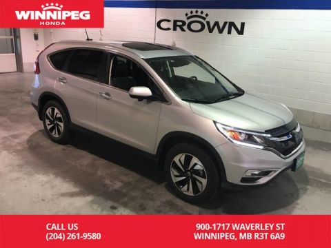 Pre-Owned 2016 Honda CR-V Touring/Navigation/Sunroof/Heated seats/Bluetooth
