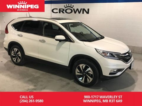 Pre-Owned 2016 Honda CR-V Certified/Touring/Lease return/Fully loaded/Bluetooth