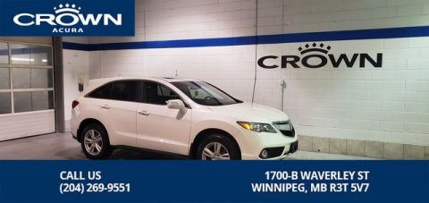 Certified Pre-Owned 2015 Acura RDX Premium SH AWD **Includes No Charge Certified Warranty** Heated Leather Seats** Local Lease Return**