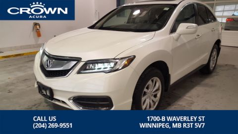 Certified Pre-Owned 2017 Acura RDX Tech AWD **Remote Starter** Includes No Charge 130000 Km Extended Warranty**