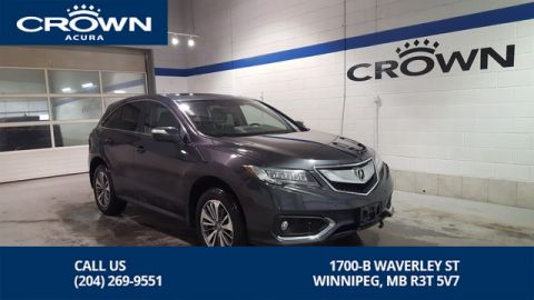 Certified Pre-Owned 2016 Acura RDX Elite AWD **Includes No Charge 130000 Km Extended Warranty** Remote Start**