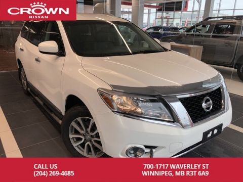 Pre-Owned 2014 Nissan Pathfinder SL 4WD V6 7 Passenger *Bluetooth/Backup Cam/Leather*