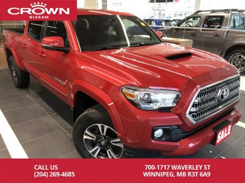 Pre-Owned 2017 Toyota Tacoma TRD SPORT Double Cab 4WD *Navi/Bluetooth/Backup Cam*