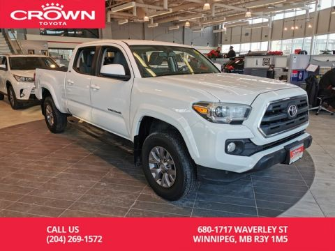 Certified Pre-Owned 2017 Toyota Tacoma SR5 4WD Double Cab / Crown Original / One Owner / Local