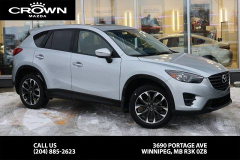 Pre-Owned 2016 Mazda CX-5 GT **Accident Free/Local Vehicle**
