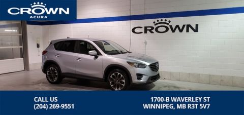 Pre-Owned 2016 Mazda CX-5 GT AWD **Remote Start ** Unlimited Km Warranty ** Navigation**