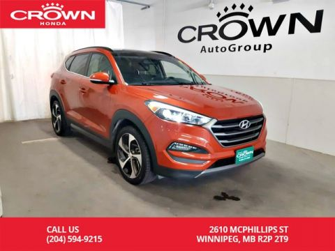 Pre-Owned 2016 Hyundai Tucson 1.6 T Limited/ one owner/accident-free/ low kms/ navigation/