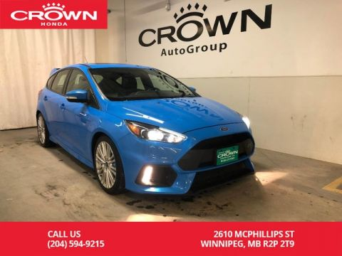 Pre-Owned 2017 Ford Focus 5dr HB RS/ BACKUP CAMERA/ B;UETOOTH/ SATELLITE RADIO/ SPOILER